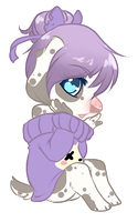 Dalmatians with Purple Hair by Miimichi