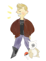 gym leader dean challenges you to a battle!! by gbcolor