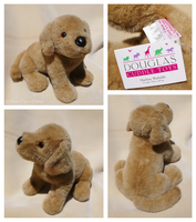 Douglas Cuddle Toys - Brandy Golden Retriever Pup by The-Toy-Chest