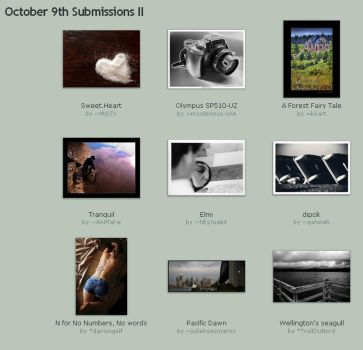 October 9th Submissions II by Optimal-Photo