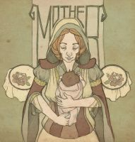 The Mother by mustamirri