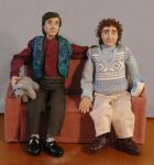 Balki and Larry Dolls by chill13