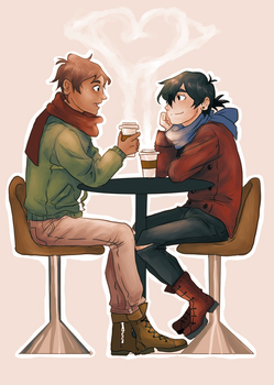 The Cafe ships it by chuu-art