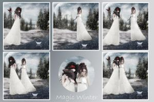 Magic Winter 2 by Flore-stock