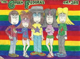 Another Green Fedoras Poster by gretzelboy89