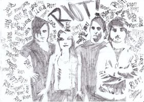 Paramore RIOT by Ellz112