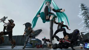 Attack of the Giant Miku by Ryukky