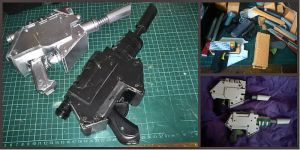 Horus Heresy Cosplay craft WIP: Laspistol by alberti