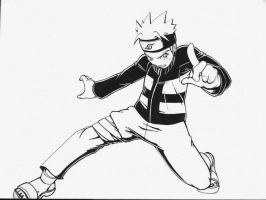 Naruto Inked by DaosX