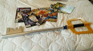 My First Keyblade!!! by todsen19
