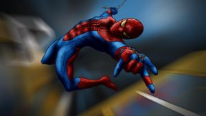 The Amazing Spiderman by iamherecozidraw