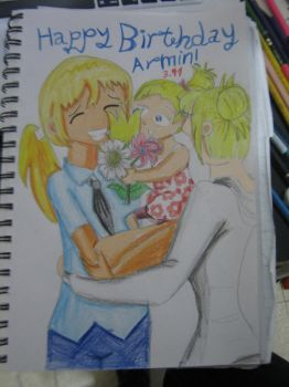 Happy Birthday Armin! by EnvitChan