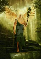 Angel Raphael by babsartcreations