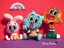 The Amazing World of Gumball by BarelyCreative