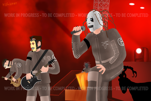 Slipknot Work-In-Progress Pic by wizfrikiman