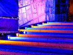 Lit Up Stairs by Kitteh-Pawz