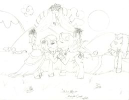 Pony Wedding: Love is in Bloom by Midnight--Comet