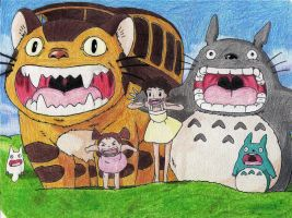 Totoro # assistam ao video # watch the video by EricaCope