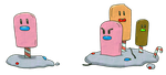 Diglett and Dugtrio Ice Fairy Delta by Axel-Comics
