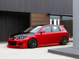 Mazda 3 Mazdaspeed by xkev28