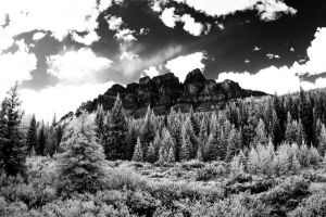 Castle Mountain by martigras