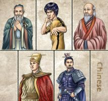 Historia DA collection - Chinese by Lythilien