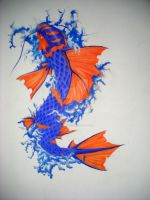 Koi Fish by SoloPr0ject