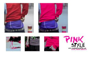 +Action Pink Style by Heisbieber