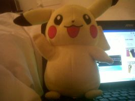 my pikachu toy by pokemonlover112