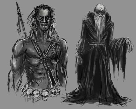 Character Quickies by WretchedSpawn2012