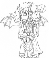 CollabSketch-The Drake Family by DarkSpyroIke