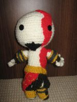 Kratos Amigurumi by CataCata23