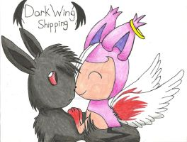 Request: DarkWingShipping-Angel x Shade by adventurerabby