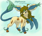 Stephanie Evolved... by PachirisuLuva