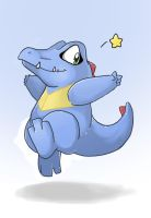 +Totodile Superstar+ by Sprinkling-stars