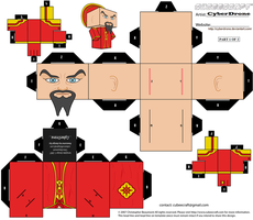Cubee - Ming The Merciless '1of2' by CyberDrone