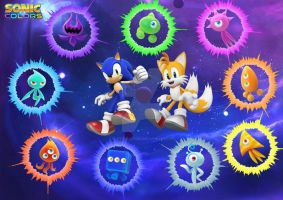 Sonic Colours In Space by D-JProductions