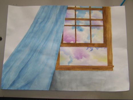 Clouds in my window by ChameleonColour