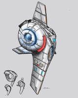 Rademaker Ship Concept by Ihlecreations
