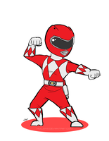 Lil Red Ranger by Hollens