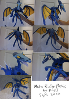 Meta Ridley plushie by TheRoguez