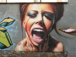 Graffiti of Jeri Lee by wawrzino