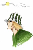 Kisuke colored by Bambily