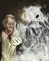 Jacob Marley by LoveLydetective