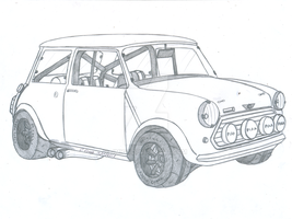 1965 BMC Mini Cooper S by jmig3