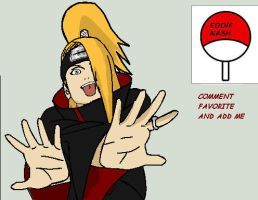 deidara by Eddie-Nash