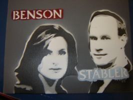 Law and Order SVU by Stencils-by-Chase