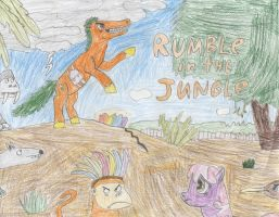 Rumble in the Jungle poster by Wesdaaman