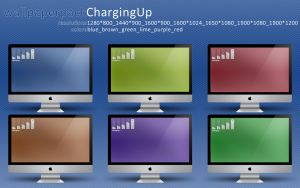 ChargingUp Wallpaper Pack HD by terrencephil