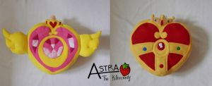 Sailor Moon brooch pillow by Astreum87